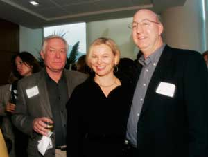 Malcolm Kaufman, Ann Dixtra & James Winans of McGuire Real Estate