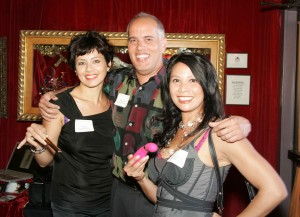 Tonia Lare, Salon Mark Carlos, Marty Bautista of Frank Howard Allen Realtors & Geraldine Nuval of My Boudoir Lingerie