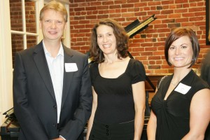 Dennis Owen of Cathay Pacific with Stefanie Nourse & Jacqueline Friend of J Vineyards & Winery