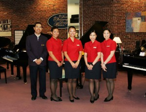 The Cathay Pacific services team