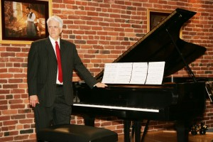 Stephen Swedish, renowned concert pianist played a symphony for our ears