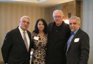 Alf Nucifora, Linda Almini, Richard Baker and Joseph White