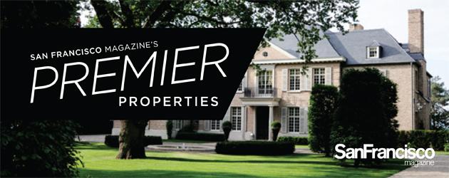 San Francisco magazine's Premier Properties Real Estate Section