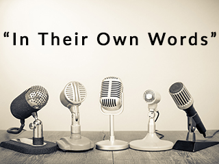 It Their Own Words an interview series by The Luxury Marketing Council of San Francisco