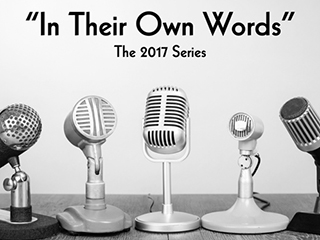 In Their Own Words 2017 interview series with top real estate agents