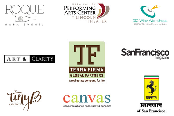 Sponsors of the 2017 Wineries Boot Camp presented by The Luxury Marketing Council of San Francisco